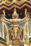 thai skulpturstil Arkivfoto