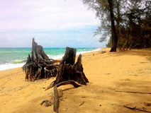 Thai. Sky sea beach Stock Photo