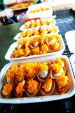 thai slags sweetmeat Royaltyfri Fotografi