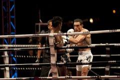 thai slagsmål Arkivbild
