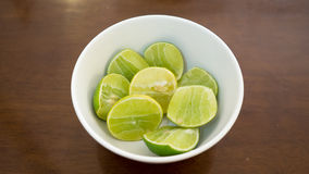 Thai sliced lime. Stock Photo