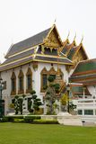 thai slott Royaltyfri Fotografi