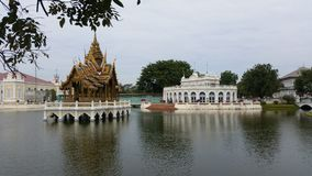 thai slott Arkivbild