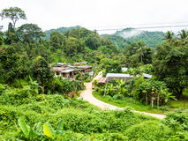 Thai small village stock photography