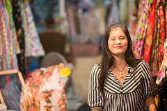 Thai Smile at the Night Market in Hua Hin Stock Photography