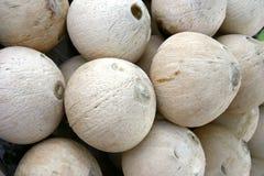 Thai Smoked Coconut - sweet beverage Stock Photo