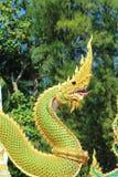 Thai snake symbol Royalty Free Stock Image
