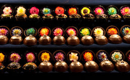 Thai soap flowers Stock Images
