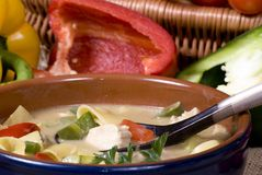 Thai Soup 007 Stock Photo