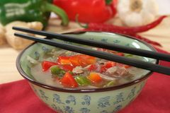 Thai Soup Royalty Free Stock Images