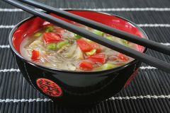 Thai Soup Royalty Free Stock Photo