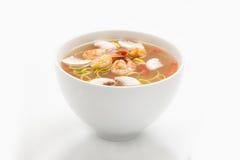 Thai soup stock images