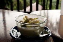 Thai soup bowl Royalty Free Stock Photo