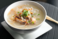 Thai Soup with Pork Royalty Free Stock Image