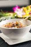 Thai Soup with Pork Stock Image