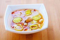Thai soup Tom Yam Royalty Free Stock Image