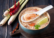 Thai Soup Tom Yam Royalty Free Stock Images