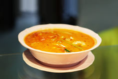 Thai soup Royalty Free Stock Image