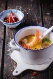 Thai soup Tom Yam Stock Image