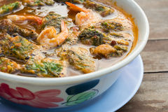 Thai sour soup Stock Images