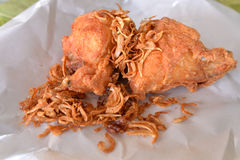 Thai southern style fried chicken Stock Image