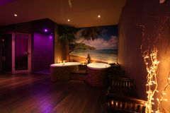 Thai SPA. Relax in Thai private spa Stock Photography