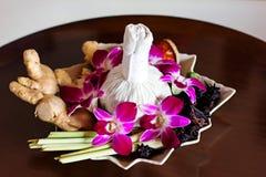 Thai spa arrangement Stock Photography