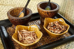 Thai Spa Herbs Royalty Free Stock Images