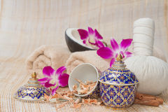 Thai Spa and Massage, healthy and beautiful Royalty Free Stock Photography