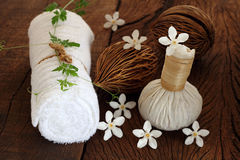 Thai spa and massage. Stock Photo