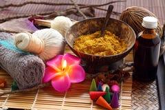 Thai spa and massage. Stock Photo