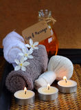 Thai spa and massage. Royalty Free Stock Photo