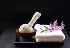 Thai spa and massage. Stock Photos