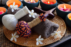Thai spa and massage. Royalty Free Stock Image