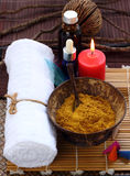 Thai spa and massage. Stock Image