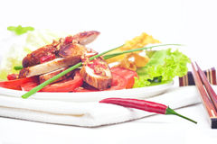 Thai spicy chicken Stock Image