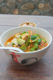Thai spicy curry-vegetarian Stock Photo