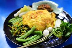 Thai spicy delicious food set Royalty Free Stock Photos