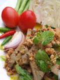 Thai spicy food (lab) Stock Image