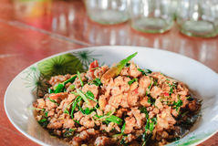 Thai Spicy Food Royalty Free Stock Image