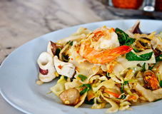 Thai spicy fried noodle 2 Royalty Free Stock Photo