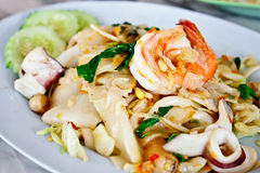 Thai spicy fried noodle 3 Stock Photo