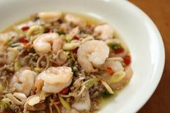Thai Spicy Lemongrass Shrimp Royalty Free Stock Image