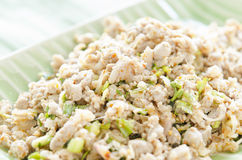 Meat salad. Thai Spicy minced meat salad Royalty Free Stock Images