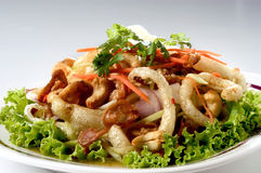 Thai spicy mixed salad Stock Photography