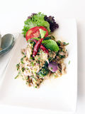 Thai Spicy salad Royalty Free Stock Photo