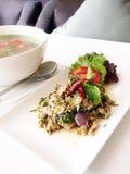 Thai Spicy salad Stock Photo