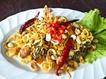 Thai Spicy Salad stock photos
