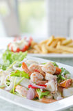 Thai spicy seafood  salad Royalty Free Stock Photography