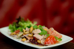 Thai spicy tuna salad Stock Images